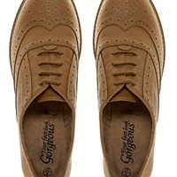 New Look Koffee 2 Camel Flat Shoes