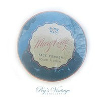 Vintage Mary King Face Powder - Sealed - Cosmetic Cardboard Box Powder