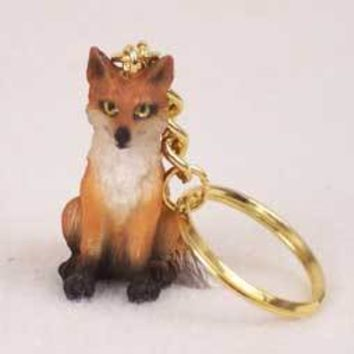 FOX RED KEY CHAIN