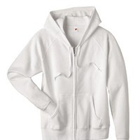 Hanes Fleece Full-Zip | Cheap Hanes Ladies Fleece Full-Zip Hoodie