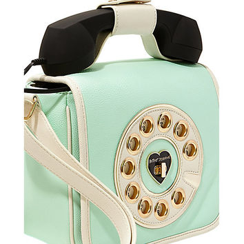 Kitsch Call Me Baby Telephone Bag Betsey Johnson