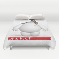 Big Hero 6 Best Picture Duvet Cover by Giftstore2u