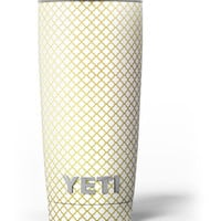 The Golden Micro Morocan Pattern Yeti Rambler Skin Kit
