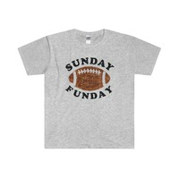 Sunday Funday Football Shirt  Adult Shirts  Football Sunday Shirts