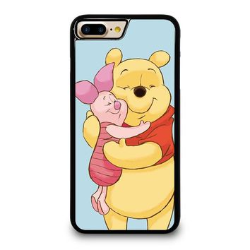 WINNIE THE POOH AND PIGLET iPhone 4/4S 5/5S/SE 5C 6/6S 7 8 Plus X Case