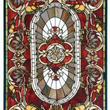Victorian trading Co. - www.victoriantradingco.com - Vanderbilt Leaded Glass Panel