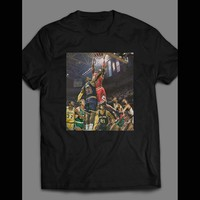 CLASSIC PAINTING OF BASKETBALL LEGENDS PAST & PRESENT T-SHIRT