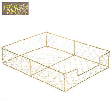 Gold Wire Letter Tray | Hobby Lobby | 1442037