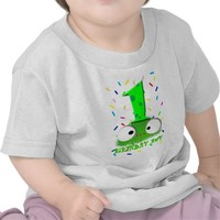 cute funny baby monster first birthday