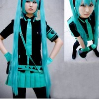 Vocaloid Hatsune Miku Love is war Cosplay Costume Custom Made Any Size