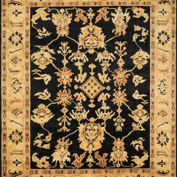 Loloi Morrow Black / Lt. Gold Area Rug