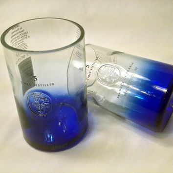 Ciroc Liquor bottle - Ciroc Vodka Glasses - Ciroc Tumblers - Christmas Gift - Ciroc Vodka Bottle - Recycled Liquor Bottle - Ciroc Glasses