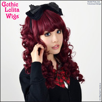Gothic Lolita Wigs® Lady Amara™ Collection - Burgundy
