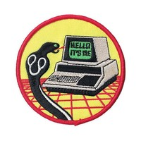 Hello, It's Me Computer Snake Patch