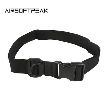 Adjustable Military Buckle Belts Tactical Combat Field Belt Outdoor Sportswear Waistband Army Nylon Utility Waist Support
