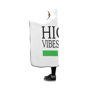 High Vibes Hooded Blanket