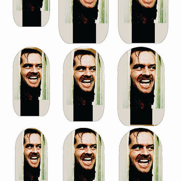 STEPHEN KING The SHINING Water Slide Nail Decals