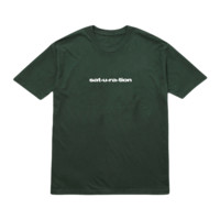 'saturation' t-shirt (forest green)