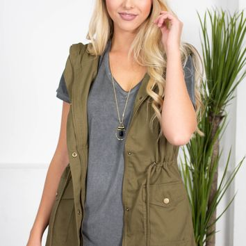 Farrah Sleeveless Vest | Colors