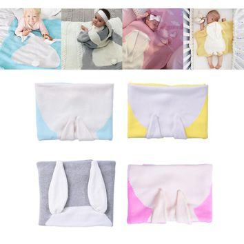 Knitting Blanket Rabbit Style Siesta Baby Blanket