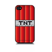 iPhone 4 or 4S iPhone 5 full case Minecraft TNT