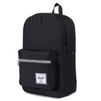 Herschel Supply Co.: Pop Quiz Backpack - Black / 3M Rubber