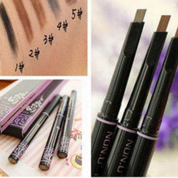 new automatic eyebrow pencil makeup paint for eyebrows brushes cosmetics brow eye liner tools brow pencil( 1pc) = 1668694020