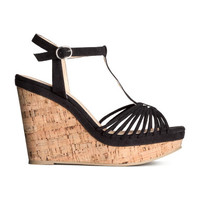 H&M Sandals with Wedge Heel $29.95