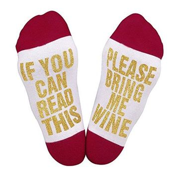 If You Can Read This Gift Socks