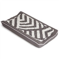 Changing Pad Cover and Topper in Zara Pewter