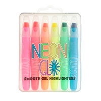 crewcuts Girls International Arrivals Neon Glo Gel Highlighter Pens