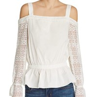 Ramy BrookTeagan Cold Shoulder Top