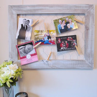 Chicken Wire Picture Frame