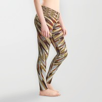 Golden Melts : Butterfly Love Leggings by Webgrrl