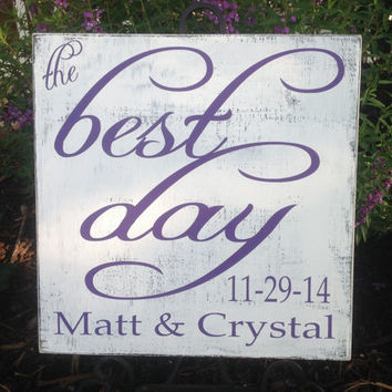 WEDDING Important Date Sign,  best day, Love Story, Shabby Chic,  Bridal Shower Gift , Engagement gift, New Couple gift, Special Dates