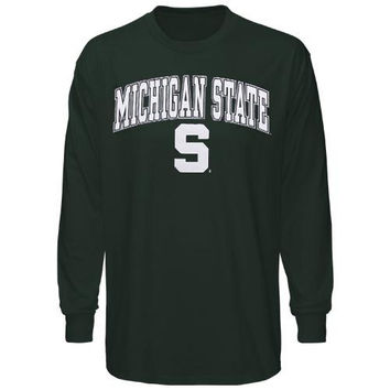 Michigan State Spartans Midsize Long Sleeve T-Shirt - Green