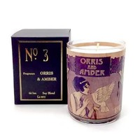 Wood Candle No. 3 Orris and Amber