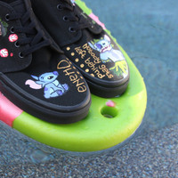Lilo and Stitch Hand-Painted Vans