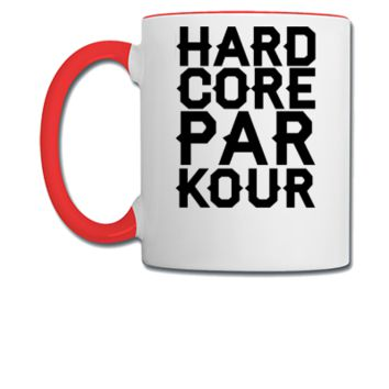 Hardcore Parkour - Coffee/Tea Mug