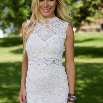 Something Special White Lace Dress