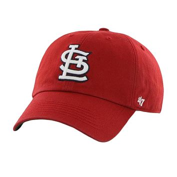 St. Louis Cardinals - Logo Franchise Red Fitted Baseball Cap