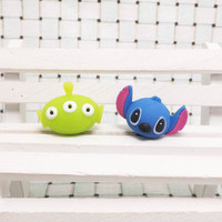 Toy Story Alien Interstellar Baby Stitch Dust Plug by MilanDIY
