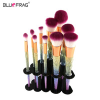 Price Reduce!Makeup Brushes 3D Colorful Makeup Brush Set 10 / 7 / 6 / 4pcs Professional Foundation Powder Brush Kit holder Tools