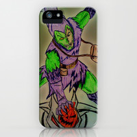 The Goblin Inside iPhone & iPod Case by Sean Derbyshire