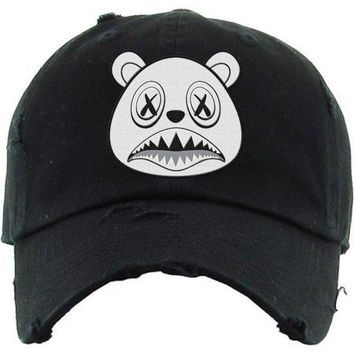 Ghost Baws Black Dad Hat