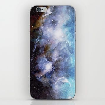 Over the Stars iPhone & iPod Skin by Adaralbion