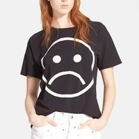 Women's MARC BY MARC JACOBS 'Magnified Sad Face' Tee,
