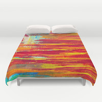 Summer Light Duvet Cover by Sophia Buddenhagen