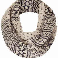 Fairisle Snood - Cream