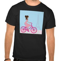 Biking in Paris T Shirt
